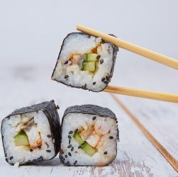 baguettes sushis