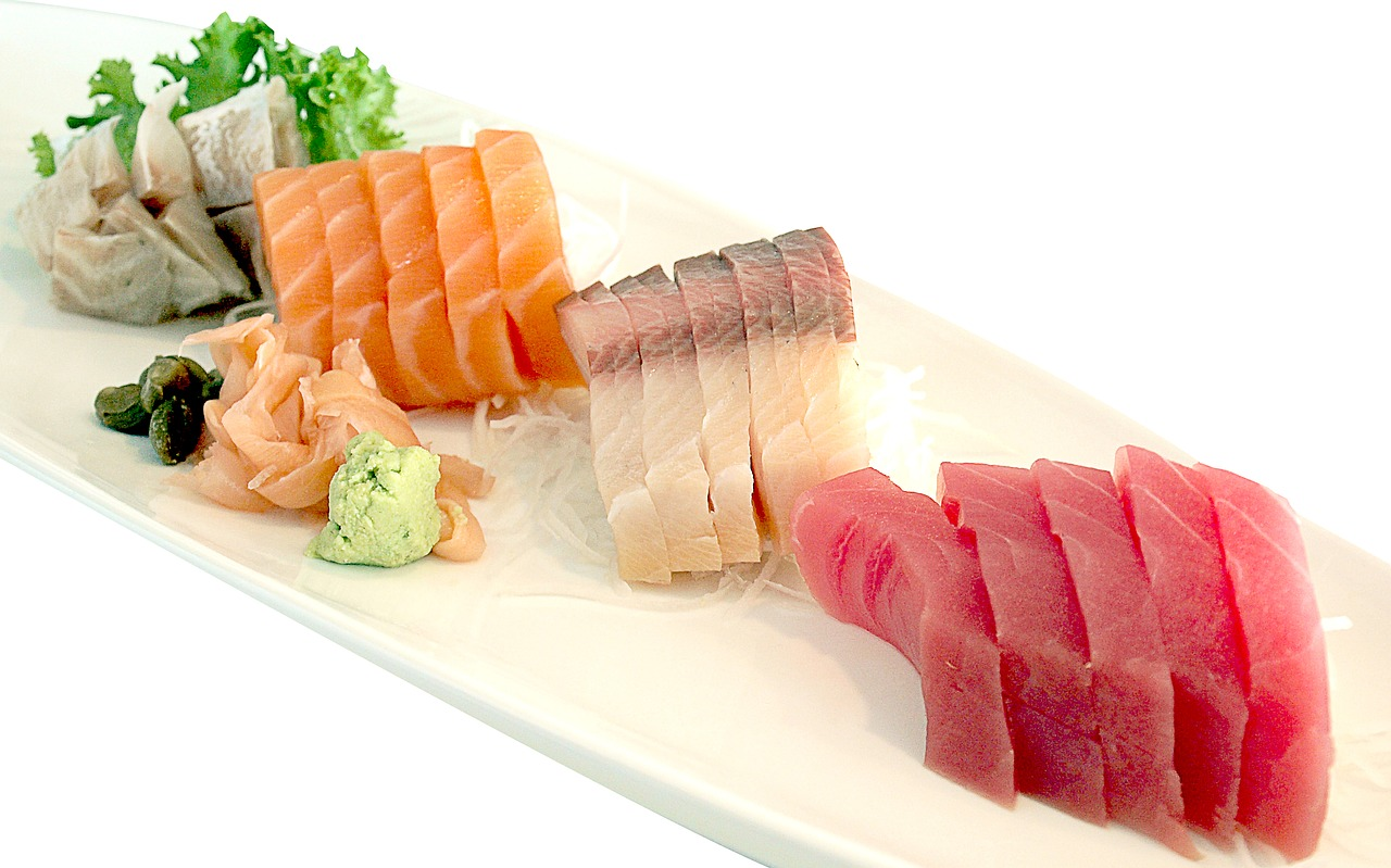 tranches sushis
