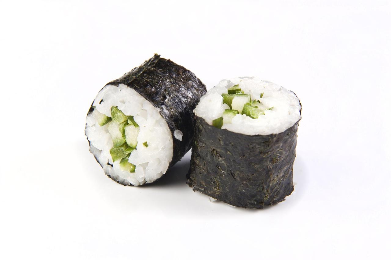 algues poissons maki japonais