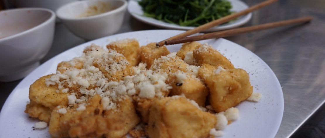Les Inari Sushi : des bouchées dans une poche de Tofu Frit
