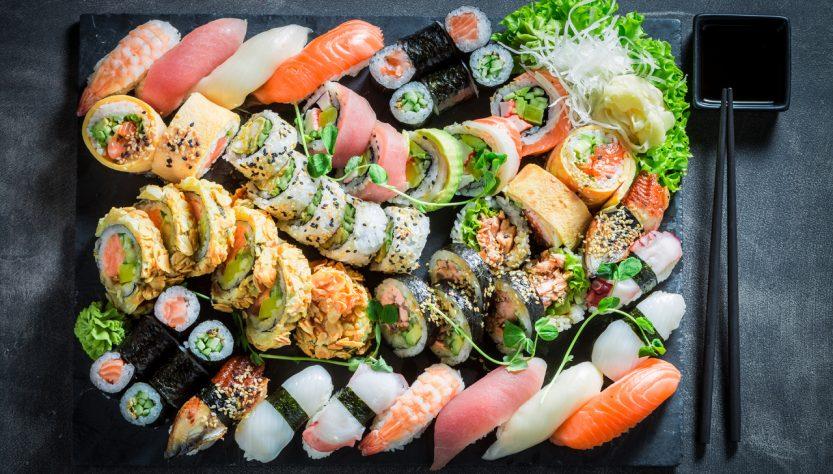 techniques faire sushis
